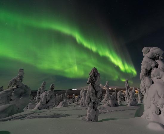 aurore boréale séminaire Laponie